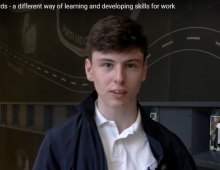 Aiden's journey: Youth Awards - It's a different way of learning