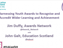 #SLF19 - Recognising Wider Learning and Achievement
