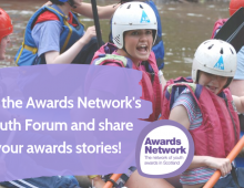 Awards Network Youth Forum - lead the change